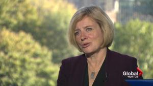 Premier Rachel Notley in Toronto