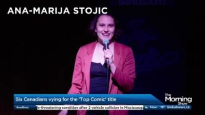 Crowning Canada's next top comic