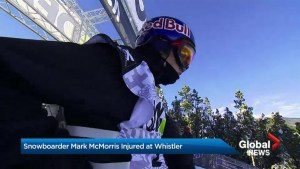 Snowboarder Mark McMorris injured at Whistler