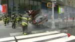 New York firefighters rush to aid victims of deadly Times Square crash
