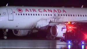 Air Canada passengers left feeling unsettled after runway excursion at Pearson International Airport
