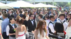 Mass wedding for same-sex couples at WorldPride