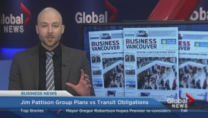 BIV: Jim Pattison to head transit accountability committee