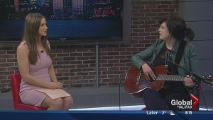 Meaghan Smith performs on The Morning News