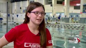 Para-Swimmer sets 3 records at Saskatoon Goldfins Invitational
