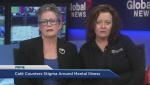 Cafe counters stigma around mental illness