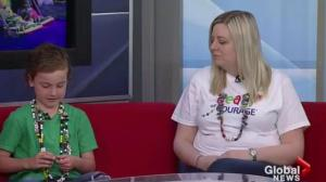 Colour festival fun run supports Beads of Courage