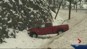 Okanagan hit with major snowfall