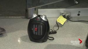 The safe use of space heaters in your home