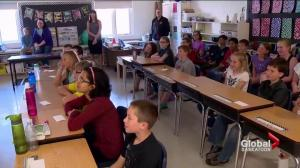 Watrous Elementary School Grade 5 students latest SkyTrackers