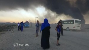 Burning sulphur near Mosul sends hundreds to hospital
