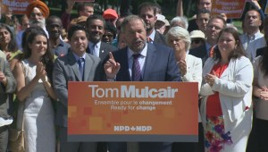 Mulcair: NDP was the only party to vote against Bill C-51