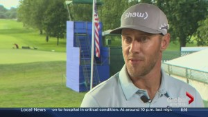 Graham DeLaet at the RBC Canadian Open