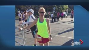 Woman hit by flying truck tire escaped Boston Marathon Bombings