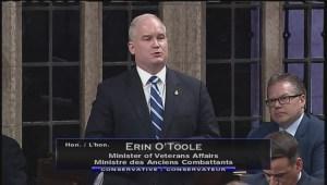 Veterans Affairs Minister salutes Ernest Côté