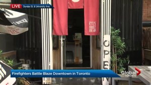 Toronto emergency crews get 5-alarm fire under control