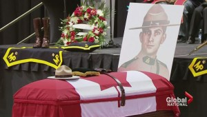 Honouring the fallen:  Moncton lays officers to rest