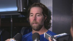 R.A. Dickey says he holds himself responsible for home opener loss