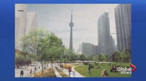 Toronto Mayor's planned Rail Deck Park up for discussion at city council