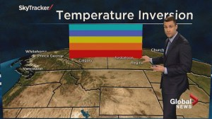Global News Weather Team Tutorial: temperature inversion