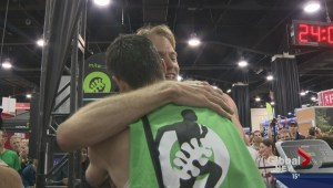 Mito-Canada runners set new Guiness World Record on treadmill