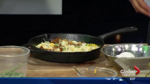 Global Kitchen with Prairie Catering: Delicious baked eggs for morning games