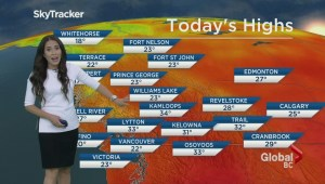 BC Evening Weather Forecast: Jul 24