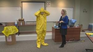 Nurses union concerned over Ebola preparedness