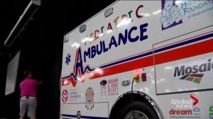 Synergy 8 reveals new pediatric ambulance for young Sask. patients