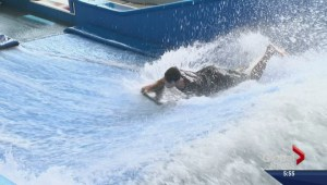 Kelowna teen riding waves to success