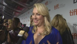 "TIFF Red Carpet: Author Cheryl Strayed from the film ""Wild"""