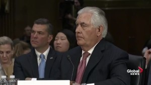 Rex Tillerson disagrees with Donald Trump on nuclear weapons expansion plans