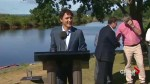 Prime Minister Justin Trudeau commends RCMP for preventing Strathroy, Ontario terror attack