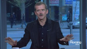 "Chris Hadfield on new book ""You Are Here"" and future plans"