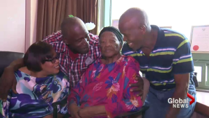 Mother's dying wish to see children granted