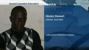 Liberian can't get visa  to attend Squamish university