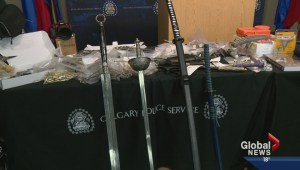 Fencing operation busted – weapons seized