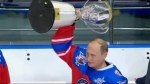 Vladimir Putin plays hockey with ex-NHL'ers on 63rd birthday, scores 7 goals