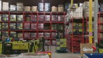 Poor economy blamed for higher demand at food bank