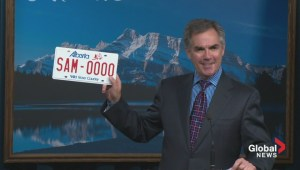 Alberta license plate redesign canceled