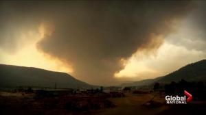 Wildfire now 7 km from Williams Lake, B.C.