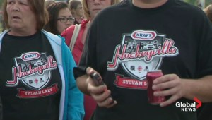 Hockeyville in Sylvan Lake