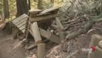 North Shore bike trail sabotage arrest