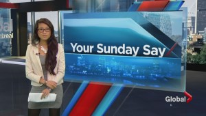 Your Sunday Say: Oct 26