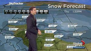 Global Edmonton weather forecast: March 22