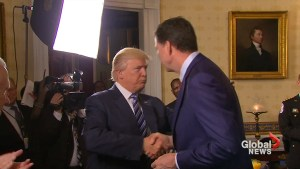'He's become more famous than me': Trump shares embrace with FBI Director James Comey
