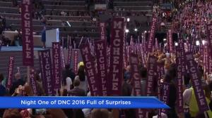 Reaction to the first night of the DNC from Democrats Abroad