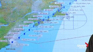 Maritimes bracing for arrival of Hurricane Arthur