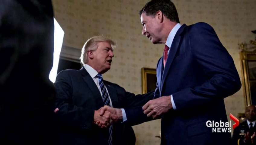 Trump denies telling Comey to back off, bashes former Federal Bureau of Investigation  director