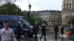 Heavy police presence outside Paris' Notre Dame following security incident